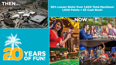 Rampart Casino Celebrates 20th Anniversary