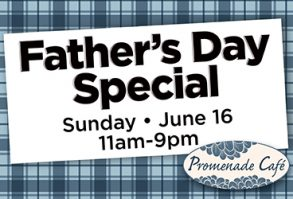 Father's Day Dining Special