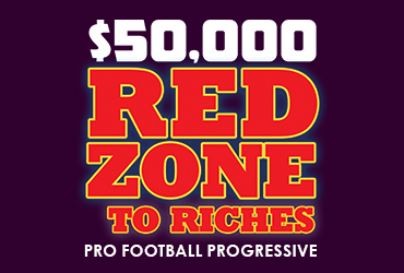$50,000 Red Zone to Riches Pro Football Contest