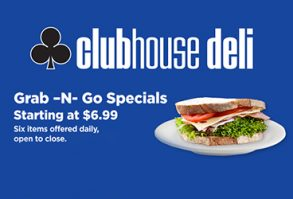 Clubhouse Deli Grab-N-Go Special