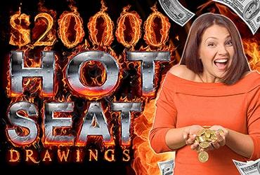 $20,000 Free Slot Play Hot Seats - Las Vegas Slots