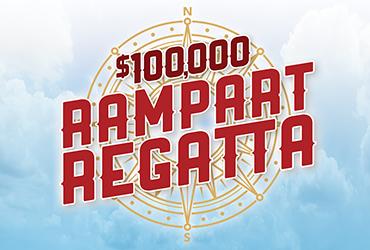 $100,000 Rampart Regatta Drawings