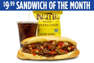 Grilled Steak Sub Sandwich