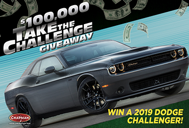 $100,000 Take the Challenge Las Vegas Table Games Giveaway
