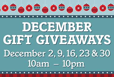 December Gift Giveaways