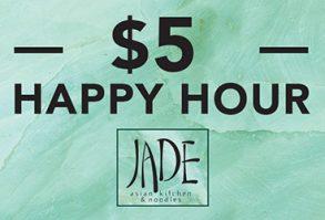 Jade Happy Hour