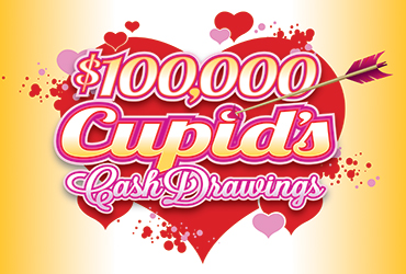 $100,000 Cupid's Cash Drawings