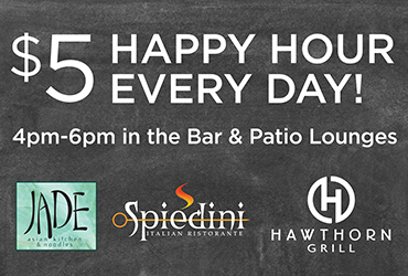 Bar & Patio Happy Hour