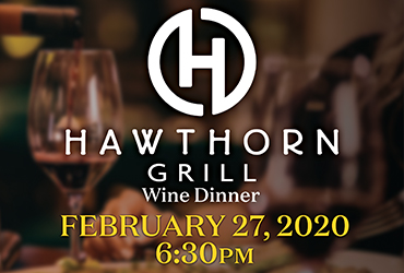 Hawthorn Grill Wine Dinner