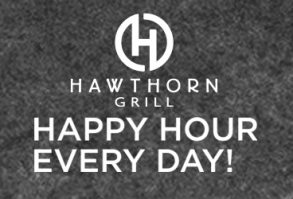 Hawthorn Grill Happy Hour
