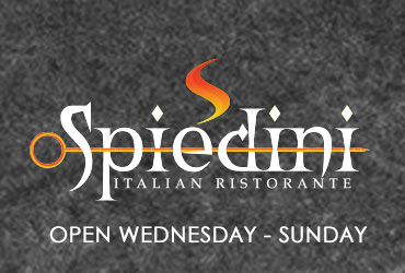 Happy Hour at Spiedini Wednesday - Sunday