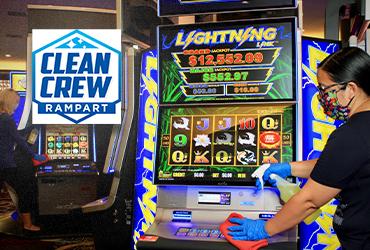 Rampart Casino Health & Safety