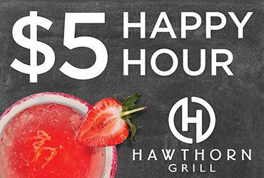 Happy Hour at Hawthorn Grill