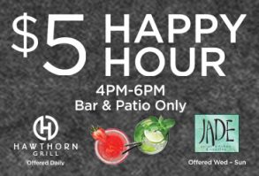 Happy Hour at Jade