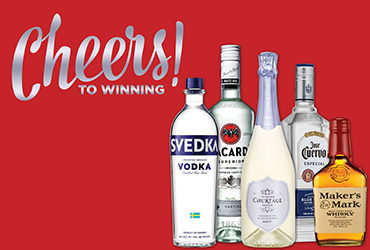 Cheers to Winning - Liquor Giveaway