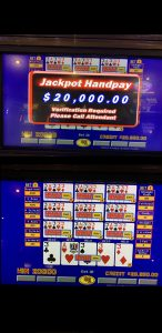 $20,000 Jackpot at Rampart Casino