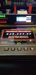 Jackpot at Rampart Casino