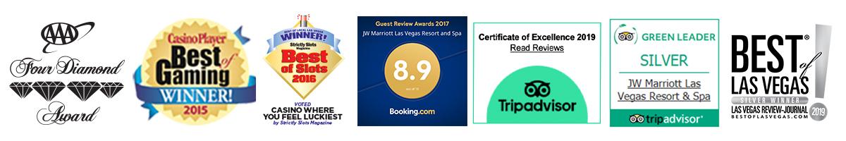 Stay at the award-winning JW Marriott Las Vegas Resort