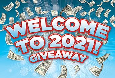 Welcome to 2021 Giveaway!