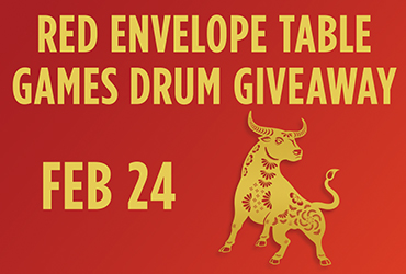 Year of the Ox Red Envelope Table Games Prize Pick - Las Vegas Casino