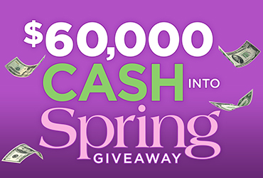 Cash Into Spring Giveaway