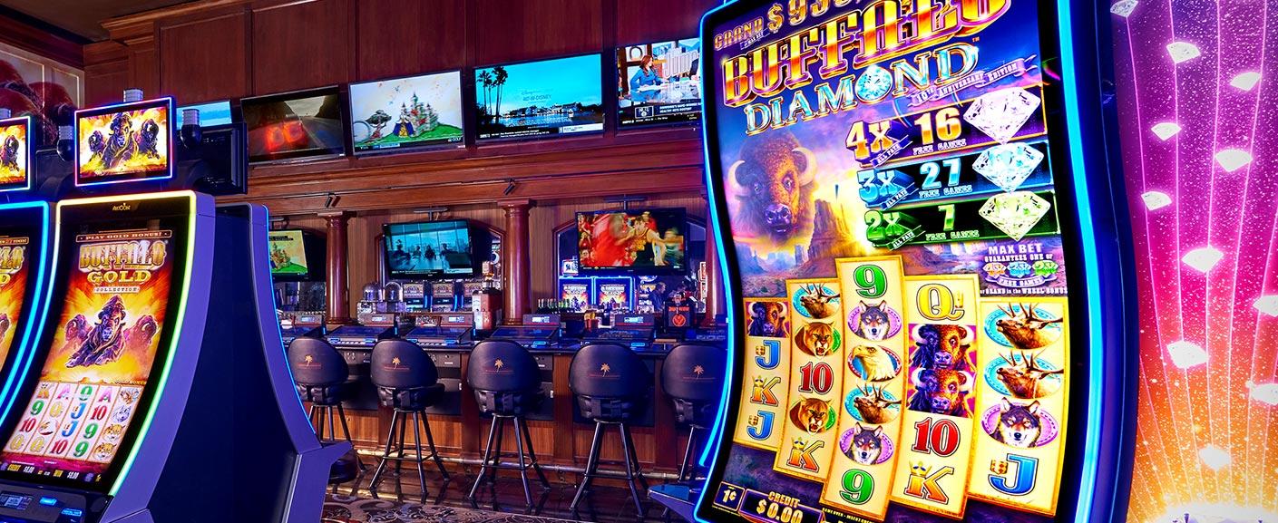 Hot New Slot Machines at Rampart Casino.