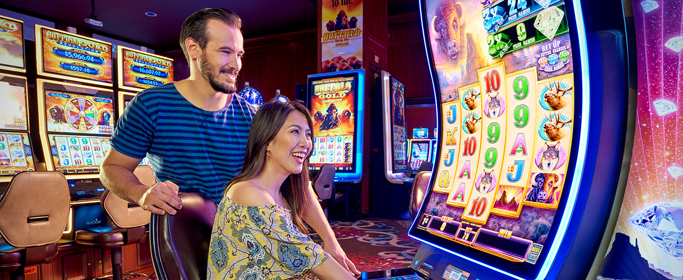 Play all the Hot Slots at Rampart Casino.