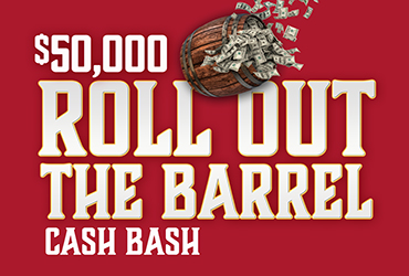 Roll Out The Barrel Cash Bash