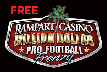 Rampart Casino Million Dollar Pro Football Frenzy