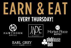 Earn and Eat at Rampart Casino